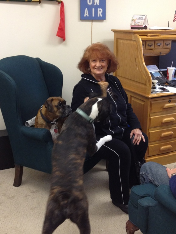 NPA Visitor Welcomed with Open Paws